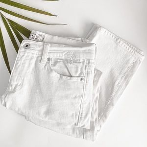 Lucky Brand | Sweet Crop White Jeans